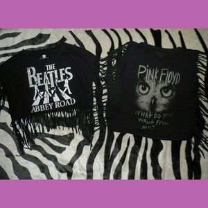 Pink Floyd & The Beatles Shag T-Shirts
